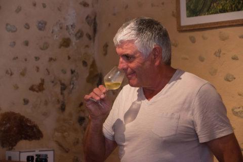 Dégustation vin vignoble Soupçons en Jurançon